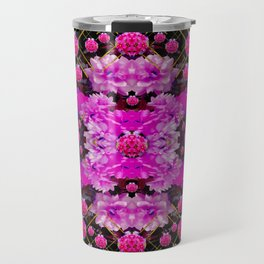 Flowers and gold in fauna decorative style Travel Mug