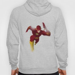 The Flash minimalist Splash Poster Hoody