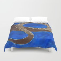 Creature of Water (the tentacle) Duvet Cover