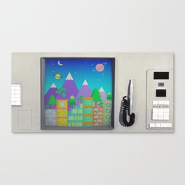 CompuSpace B Canvas Print