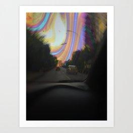 On the Road Art Print