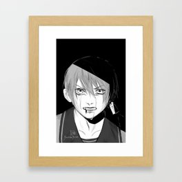 Real Ciel Phantomhive: At least… I am all I can offer. Framed Art Print
