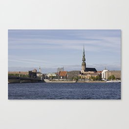 Riga Old Town Canvas Print