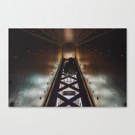 Bridged Beam Canvas Print