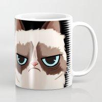 grumpy Mugs featuring Grumpy  by Blaze-chan