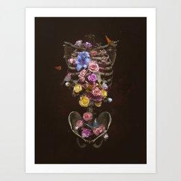 Floral Soul Art Print