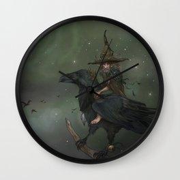 Munin, Autumn Spirit Wall Clock