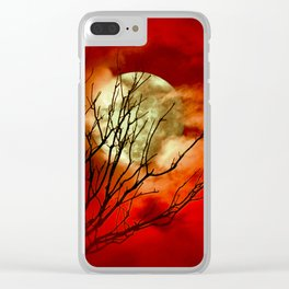 SUPERMOON - 11318/2 Clear iPhone Case