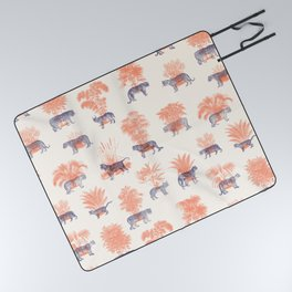 Where they Belong - Tigers Picnic Blanket