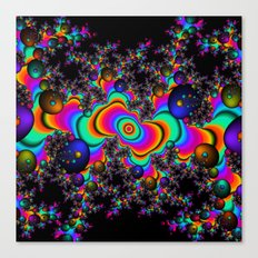 Psychedelic Space Canvas Print