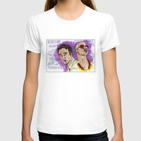 tyler durden T-shirts featuring Tyler Durden - Ed Norton - Brad Pitt - Quotes by Matty723