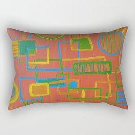 Circuit Kid Rectangular Pillow