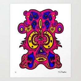 Grotesque Art Print