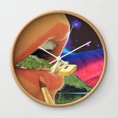Colossal Balance of Subjects Wall Clock