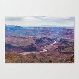 Colorado River in Grand Canyon Canvas Print