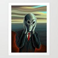 Silent Scream - The Silence Art Print