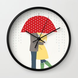 Raindrops Keep Fallin' Wall Clock
