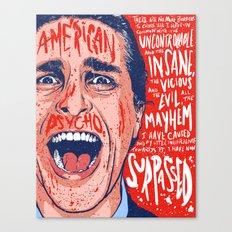 American Mayhem Canvas Print