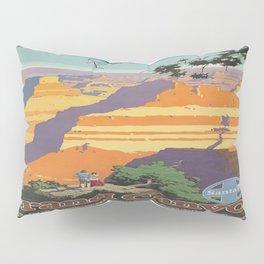 Vintage poster - Grand Canyon Pillow Sham