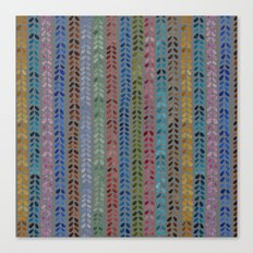 Knit Stitch Pattern Canvas Print