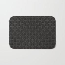 Dark Trellis Bath Mat