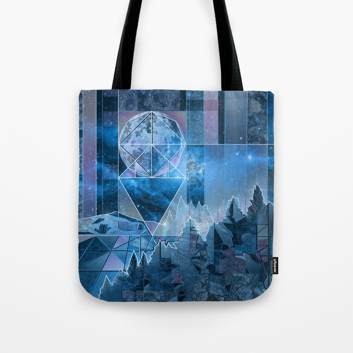 night forest 2 Tote Bag