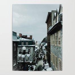 old Quebec Poster