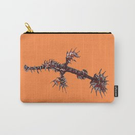 Ornate Ghost pipefish (melanistic) Carry-All Pouch