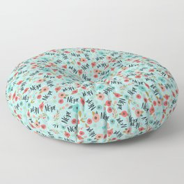 Pretty Not-So-Sweary: Nope- Day Floor Pillow