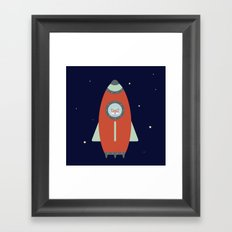 Fox Rocket Framed Art Print