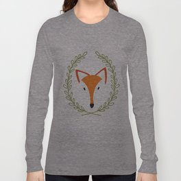f o x Long Sleeve T-shirt