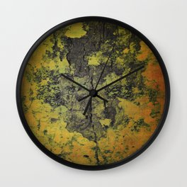 Rugged bark texture Wall Clock