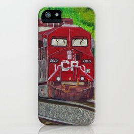 CP Train and Worke iPhone Case