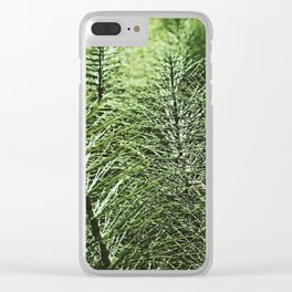 Sentinel Green Clear iPhone Case