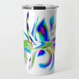 Abstract perfection - Flower Magical Travel Mug