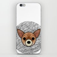 chihuahua iPhone & iPod Skins featuring Chihuahua by lllg