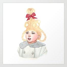 Cindy Lou Who Art Print