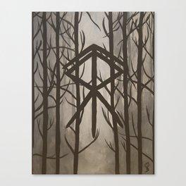 Reyn til Runa Canvas Print