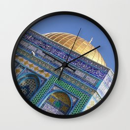 The Dome of the Rock Wall Clock