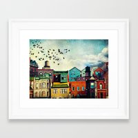 tim shumate Framed Art Prints featuring A Grand Avenue by Tim Jarosz
