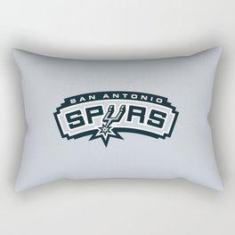 Spurs Logo Rectangular Pillow