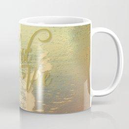 Beach Waves I - C'est La Vie Coffee Mug