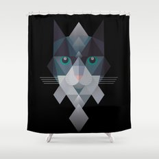 Meowmalism Shower Curtain