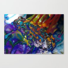 Fire Toad Canvas Print