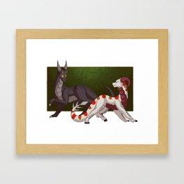 Fallen Away from Me Framed Art Print