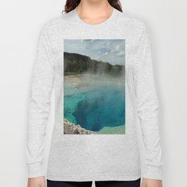 The Emerald Pool Colors Long Sleeve T-shirt