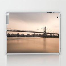 Triborough Bridge (NYC) at Sunset Laptop & iPad Skin