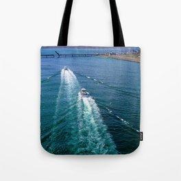 Sailing Through Tote Bag