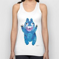 kevin russ Tank Tops featuring Kevin by Kristina Joy Collins
