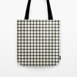 Small Ivory Weave Tote Bag